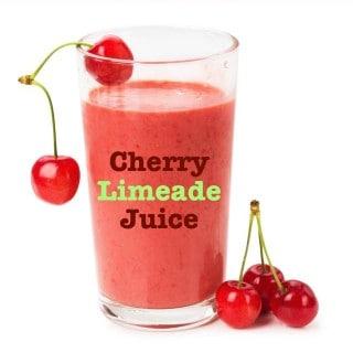 Cherry Limeade Juice {30 Days of Juicing}