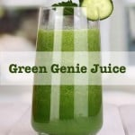 Green Genie Juice Recipe