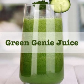 Green Genie Juice Recipe {30 Days of Juicing}