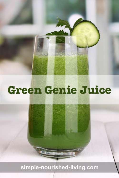 Green Genie Juice Recipe
