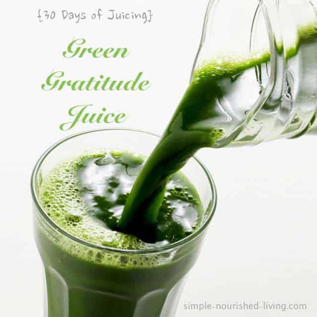 Green Gratitude Juice