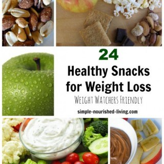 24+ Healthy Snacks for Weight Watchers  w/ Freestyle SmartPoints