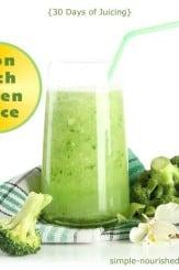 Iron-Rich Green Juice Recipe
