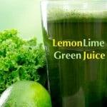 Lemon Lime Green Juice