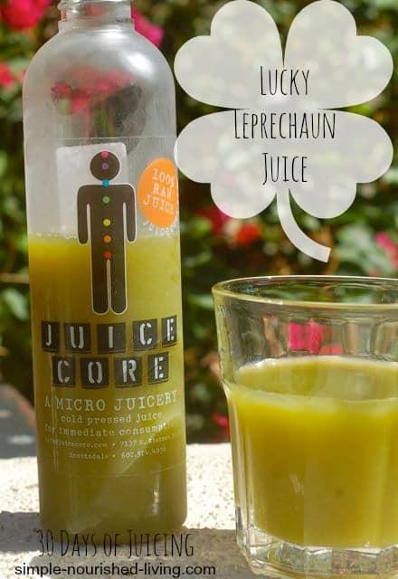 Lucky Leprechaun Juice