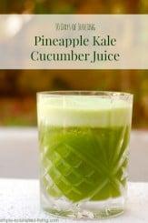 pineapple kale cucumber juice