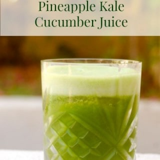pineapple kale cucumber juice