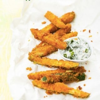 Weight Watchers Favorite: Crispy Baked Zucchini Fries