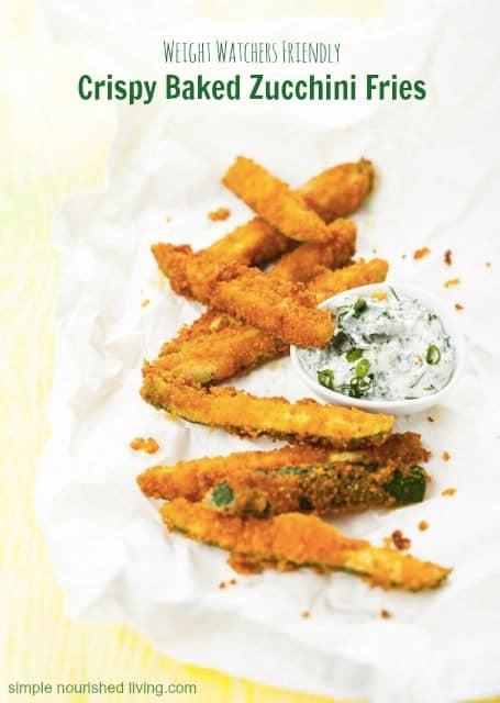 Weight Watchers Favorite: Crispy Baked Zucchini Fries