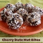 Cherry Date Nut Bites