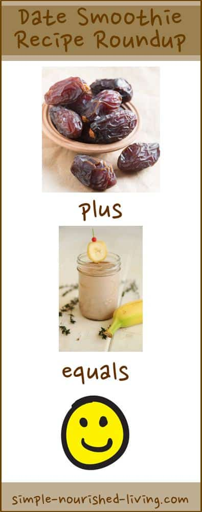 Date Smoothie Recipe Roundup
