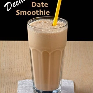 Decadent Date Smoothie Recipe