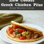 Slow Cooker Greek Chicken Pitas