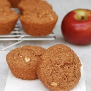 Low Fat Apple Bran Muffins – 6 WW Freestyle SmartPoints