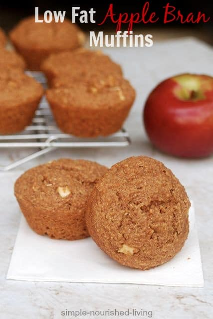 Low Fat Apple Bran Muffins Weight Watchers Recipes with Points Plus
