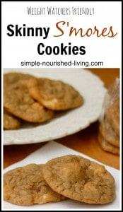 Weight Watchers Friendly Recipe for Smores Cookies