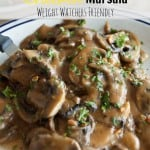 weight watchers recipes slow cooker chicken marsala close up