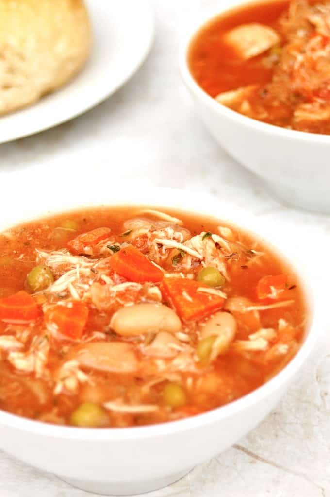 Easy Slow Cooker Chicken Vegetable Soup Simple Nourished Living