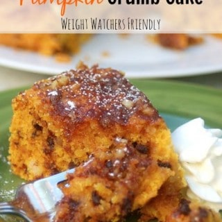 Easy Crock Pot Pumpkin Crumb Cake