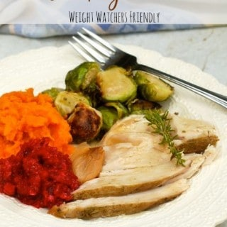 Weight Watchers Slow Cooker Turkey Breast with Garlic