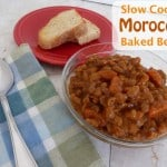 Slow Cooker Moroccan Baked Beans