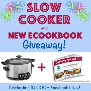 10000 Facebook Fans Crock Pot Giveaway