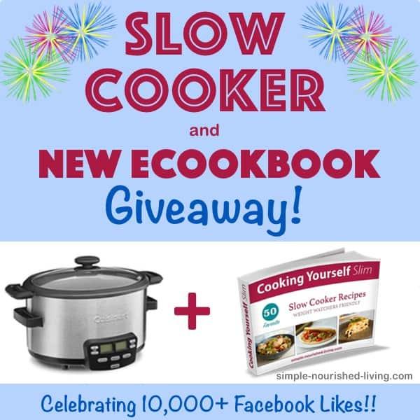 10000 Facebook Fans Crock Pot Giveaway