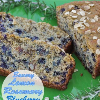 Savory Lemon Rosemary Blueberry Bread Recipe