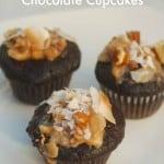 Skinny Mini German Double Chocolate Cupcakes