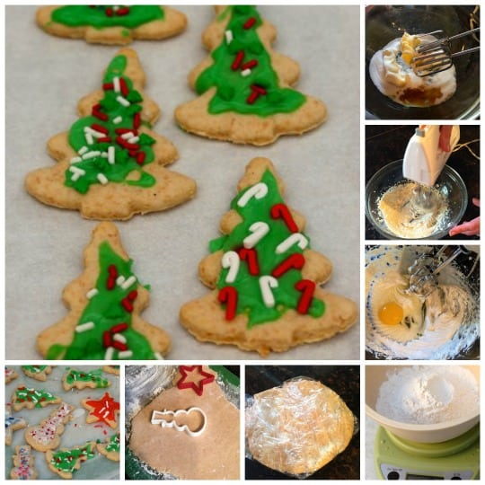 Healthier Sugar Cookies Collage