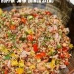 Weight Watchers Hoppin John Salad with Quinoa