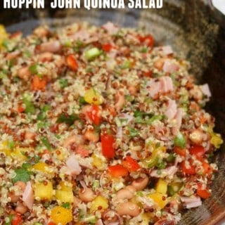 Weight Watchers Hoppin John Salad with Quinoa