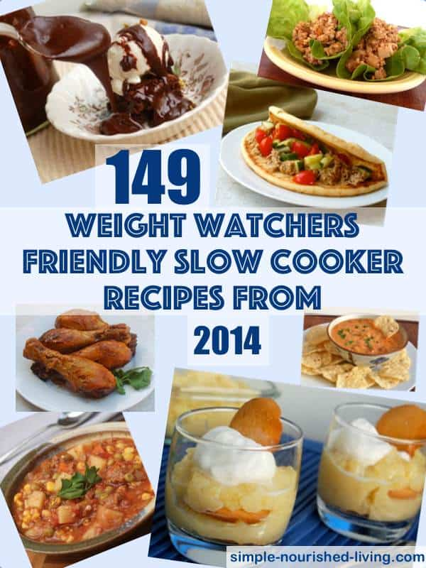 149 Weight Watchers Friendly Lower Calorie Slow Cooker Recipes - 2014