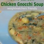 Olive Garden Chicken Gnocchi Soup Lightened Up Weight Watchers Recipe
