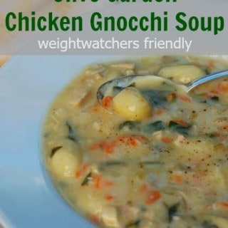Olive Garden Chicken Gnocchi Soup Made Lighter – 5 Freestyle SmartPoints