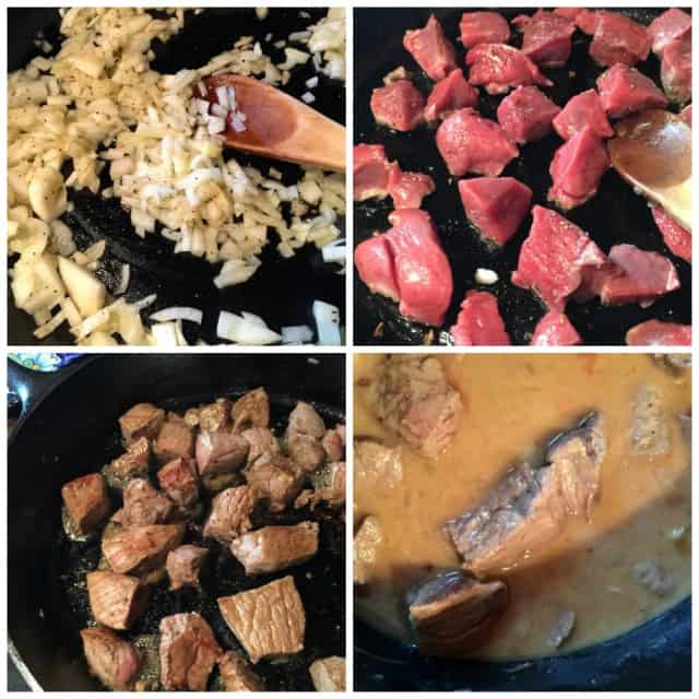 weight watchers crock pot stew beef and gravy collage