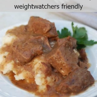 crock pot stew meat and gravy weight watchers recipe with points plus