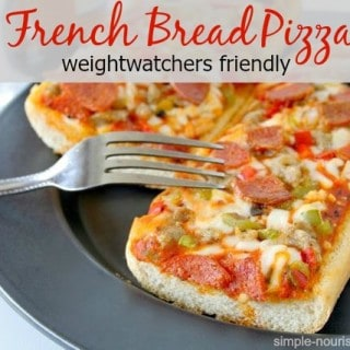 lightened up french bread pizza recipe weight watchers friendly