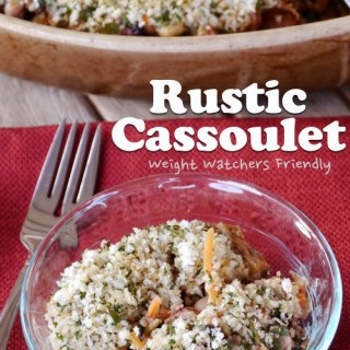 Weight Watchers Friendly Rustic Cassoulet
