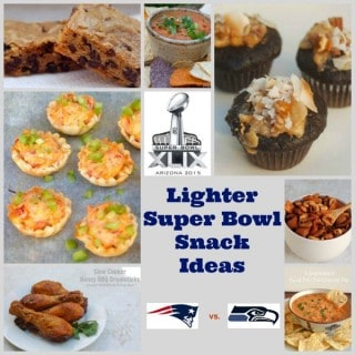 Lighter Super Bowl Snack Ideas