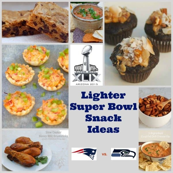 Weight Watchers Friendly Super Bowl Snacks