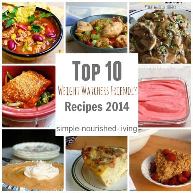 top 10 Weight Watchers Recipes 2014