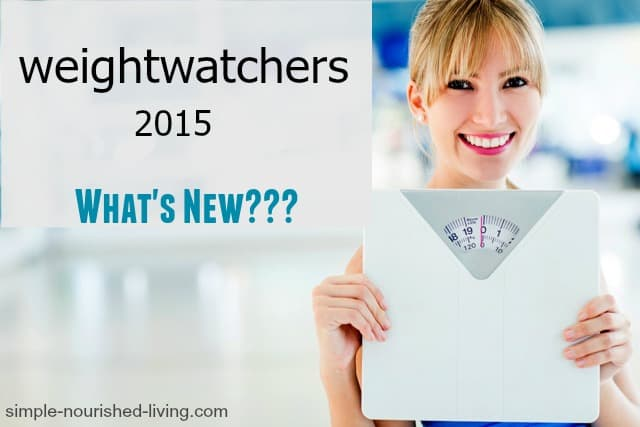 Weight Watchers 2015 What's New
