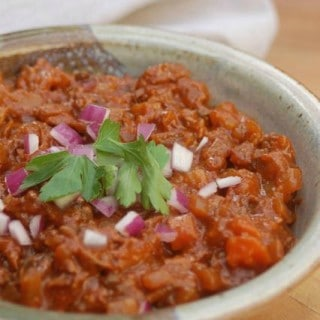 Weight Watchers Chuck Wagon Chili Slow Cooker
