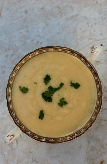 Slow Cooker Low Calorie Potato Artichoke Soup Recipe