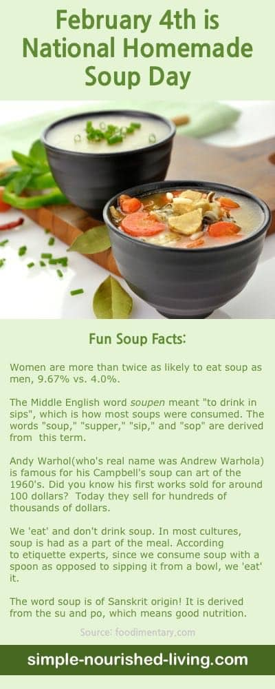 Celebrate National Soup Day with One of Our Favorite Homemade Weight Watchers Soup Recipes