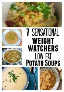 Weight Watchers Low Calorie Potato Soup Recipipes