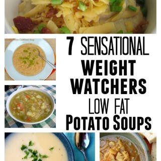 Weight Watchers Low Calorie Potato Soup Recipipes