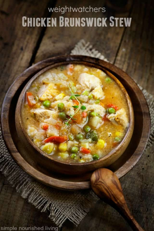 weight watchers chicken brunswick stew