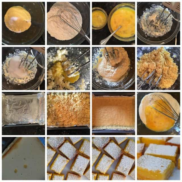 making weight watchers low fat lemon bars